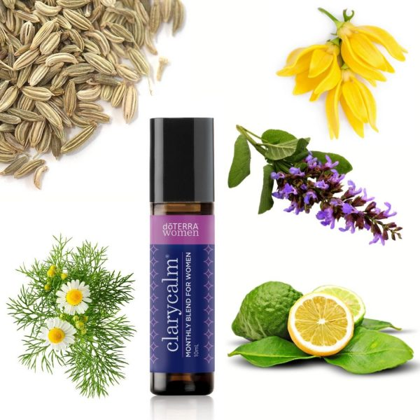 ClaryCalm Essential Oil Monthly Blend For Women Roll On doTERRA   AromaNita.com.au