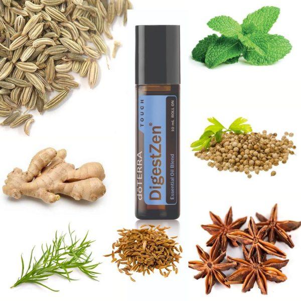 Digest Zen Essential Oil Touch Roll On doTERRA | AromaNita.com.au
