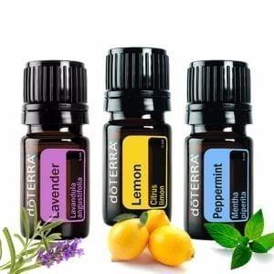 Intro kit Lavender Lemon Peppermint essential oils doTERRA | AromaNita.com.au