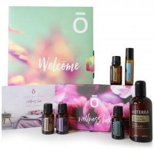 Wellness Box Bedtime Bliss Essential Oils Enrolment Kit Starter Pack doTERRA | AromaNita.com.au